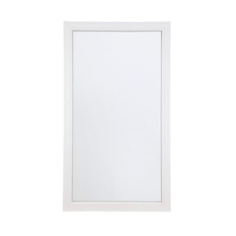 Kiinteä Ikkuna PVC Valkoinen